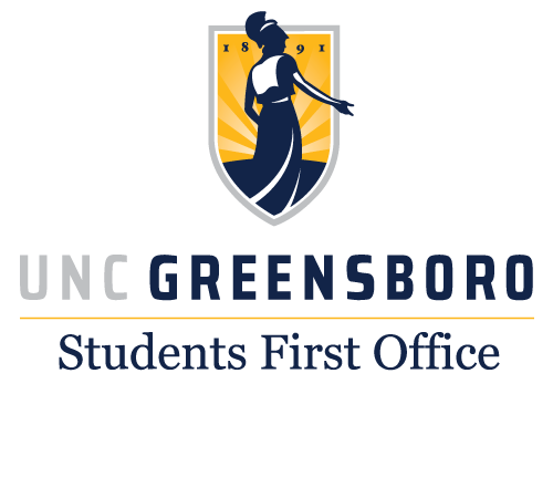 UNCG Students First Office logo